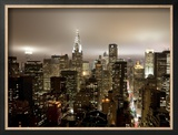 Chrysler Building and Midtown Manhattan Skyline  New York City  USA
