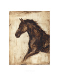Weathered Equestrian I