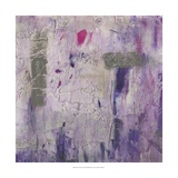 Dusty Violet II Reproduction d'art par Jennifer Goldberger