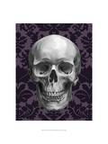 Skull on Damask