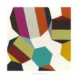 Poly-Rhythmic I Reproduction d'art par Erica J. Vess
