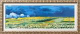 Wheatfield under a Cloudy Sky  c1890