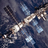 International Space Station in 2001