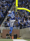 Detroit Lions and Indianapolis Colts NFL: Calvin Johnson