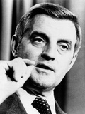 Vice President Walter Mondale Speaking During the 1980 Presidential Election
