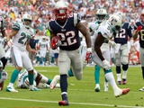 New England Patriots and Miami Dolphins NFL: Stevan Ridley