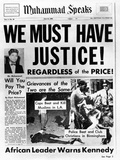 Black Muslim Newspaper  'Muhammad Speaks'  Emphasizes African Americans Abuse  Jun 21  1963