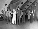 Hollywood Stars and Socialites at Roller-Skating Party at Roller-Dome in Culver City