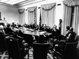Secret White House Meeting About Resuming the Bombing of North Vietnam