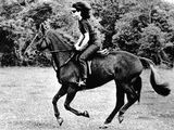 Jacqueline Kennedy  Riding a Horse in Waterford  Ireland  Jun 16  1967