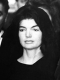 Jacqueline Kennedy at Ceremonies for Assassinated Husband  Pres John Kennedy  Nov 24  1963