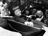President Franklin Roosevelt  Debonair with His Cigarette Holder