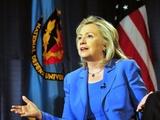 Hillary Clinton  US Secretary of State  Speaking at George Washington University  August 16  2011