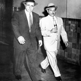 Albert Anastasia (Left) Leaves Federal District Court with His Attorney  Anthony Colendra