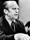 President Ford Defends His 'Full and Unconditional Pardon' of Richard Nixon