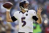 San Diego Chargers and Baltimore Ravens NFL: Joe Flacco