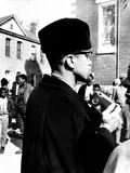Malcolm X Visits the Voting Rights Protest in Selma  Alabama