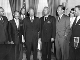 President Eisenhower Meets with African American Leaders