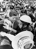 Democratic Presidential Nominee John Kennedy Campaigning