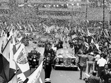 President John Kennedy Welcomed in Mexico City
