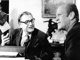 President Gerald Ford Meets with Newly Installed Vice President Nelson Rockefeller
