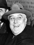 Pres Franklin Roosevelt Breaks Ground for $80 000 000 Brooklyn-Battery Tunnel Project  Oct 28  1940