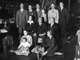 Franklin Roosevelt Family on Christmas Day  1932