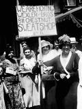 International Ladies Garment Workers Union Strikers Picket Two Shops in Philadelphia