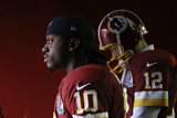 Washington Redskins and Baltimore Ravens NFL: Robert Griffin III and Kirk Cousins