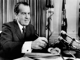 President Richard Nixon Vetoing a $197 Billion Health and Education Bill