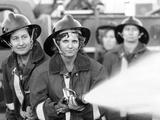 Women Volunteer Fire Fighters in Micanopy  Fla