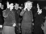 Albert Einstein Taking His Oath of Citizenship