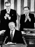 President Ford Delivers His First State of the Union Address