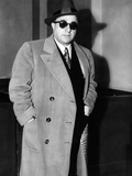 Albert Anastasia Arriving to Testify before Senate Crime Investigating Committee  Mar 20  1955