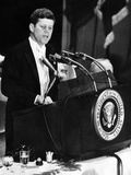 President John Kennedy Urges 'Self Censorship' of News