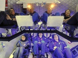 NASA Astronauts and Industry Experts Check Out the Crew Accommodations in the Dragon Spacecraft