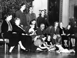 Franklin Roosevelt's Christmas Family Photo at the White House  1939