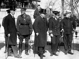 Franklin D Roosevelt (Left) Was Assistant Secretary of the Navy  under Josephus Daniels (Center)