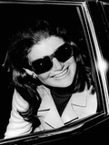 Jacqueline Kennedy Onassis Talks with Newsman  Logan International Airport  Apr 26  1970