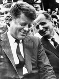 President-Elect John Kennedy and Sen George Smathers