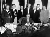 President Franklin Roosevelt  Signs Public Utility Holding Company Act of 1935  Wheeler-Rayburn Act
