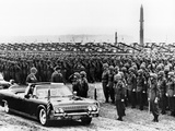 President John Kennedy Inspects 15 000 US Troops in West Germany
