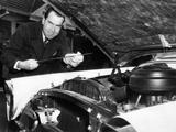 Vice President Nixon as a Gas Station Attendant