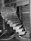 Staged Trays of a French Electronic Brain