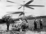 1912 'Helicopter' Designed by German Engineer  Otto Baumgaerte