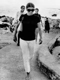Jacqueline Kennedy Onassis on Vacation in Capri  Italy