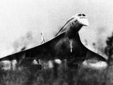 The French-Built Concorde Takes Off on a Trial Flight at Toulouse  France  Dec 6  1975