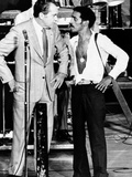 President Richard Nixon and Comedian Sammy Davis  Jr  on Stage at Miami's Marine Stadium
