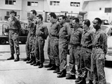 Ten Veterans of Failed Bay of Pigs Invasion Returned to US by Castro Government in May 1961