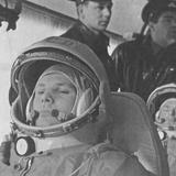 Yuri Gagarin before His Historic 108-Minute Orbital Flight of April 12  1961